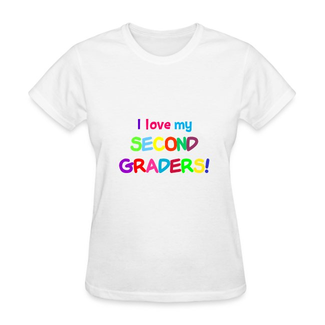 I Love My Second Graders Tee