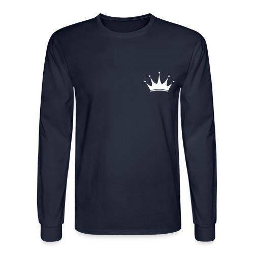 Long Sleeve Queen Skinny Shirt - Men's Long Sleeve T-Shirt