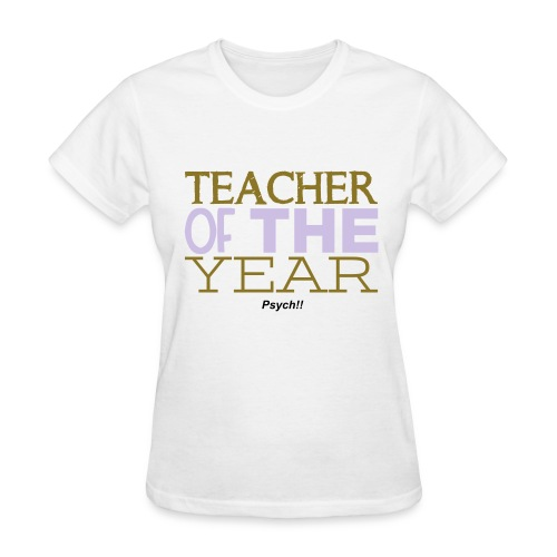 Teacher of the Year-Psych - Women's T-Shirt