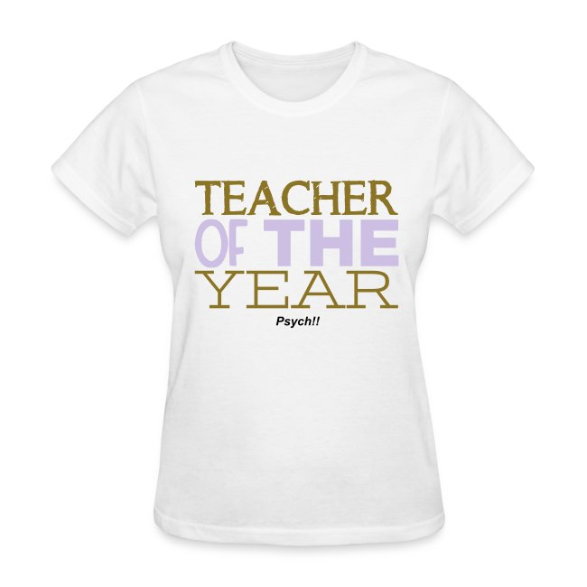Teacher of the Year-Psych