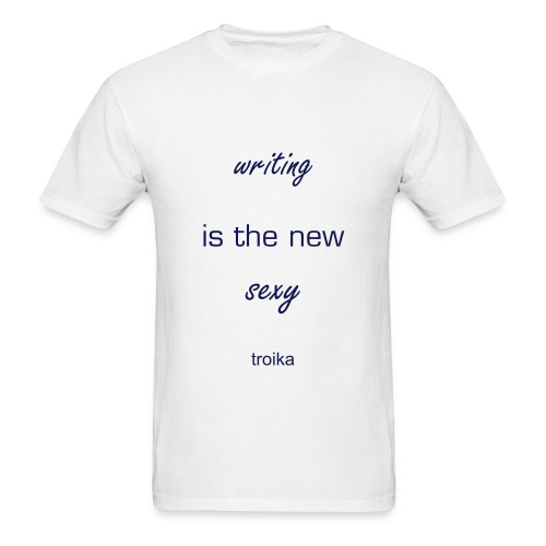 Writing is the New Sexy Men's Tee - Men's T-Shirt