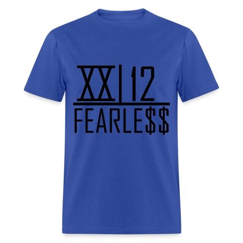 XX12 Fearless Tee Dark Word - Men's T-Shirt