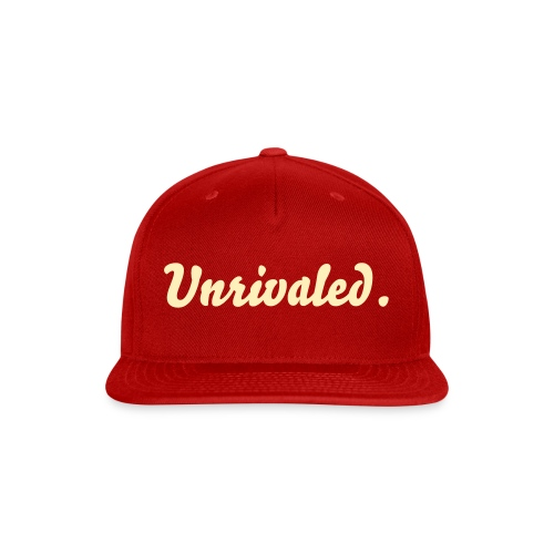 Unrivaled Snapback - Snap-back Baseball Cap