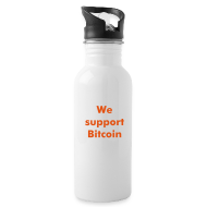 Sportswear ~ Water Bottle ~ Bitcoin water bottle