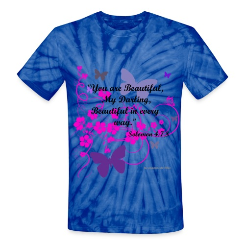 You are Beautiful Tie-Die - Unisex Tie Dye T-Shirt