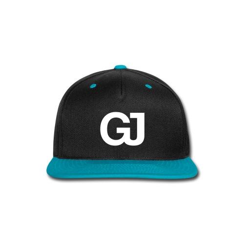 GJ Snapback Black/Teal - Snap-back Baseball Cap