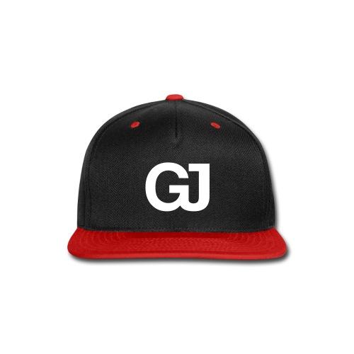 GJ Snapback Black/Red - Snap-back Baseball Cap