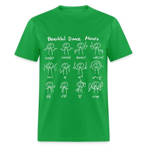 Beautiful Math Dance Moves T-Shirt - Men's T-Shirt