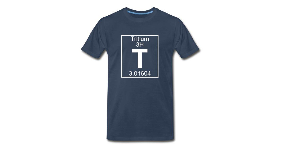 Elementaltable Tritium Mens Premium T Shirt