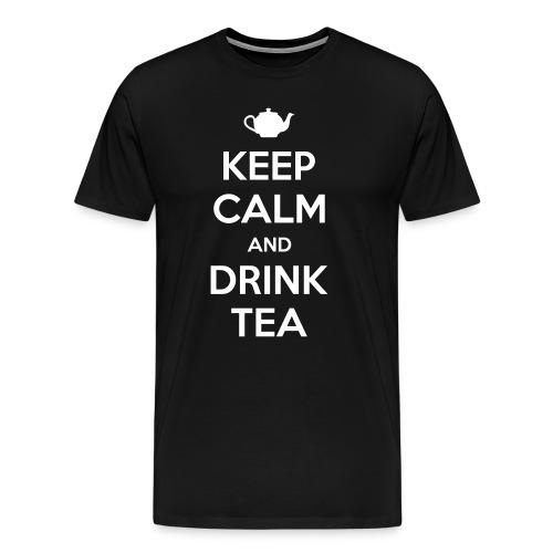 Drink Tea - Men's Premium T-Shirt