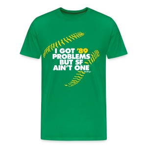 '89 Problems (kelly green) - S-5x - Men's Premium T-Shirt