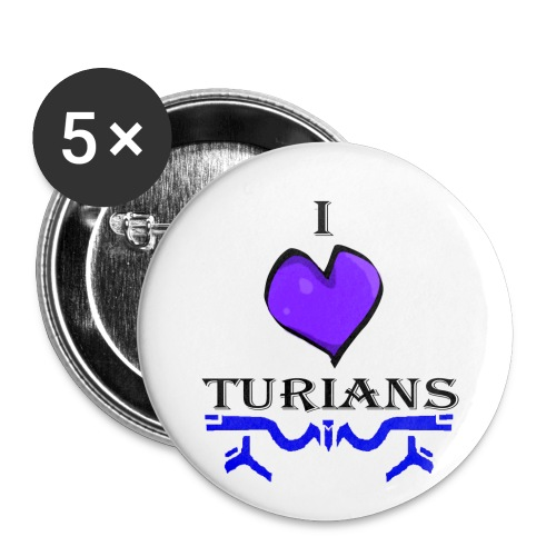 I heart Turians Button - Small Buttons