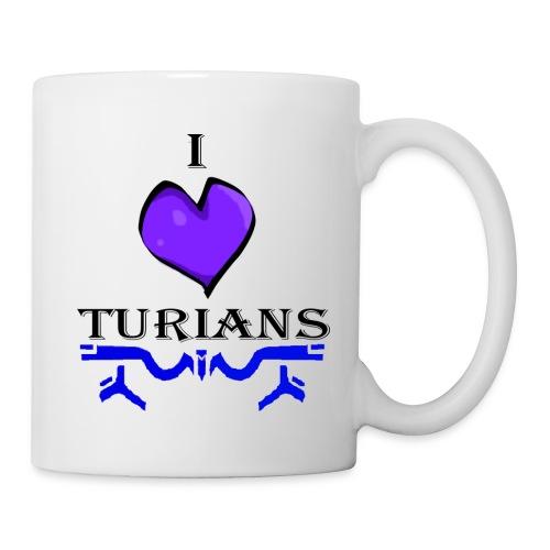 I heart Turians Coffee cup - Coffee/Tea Mug