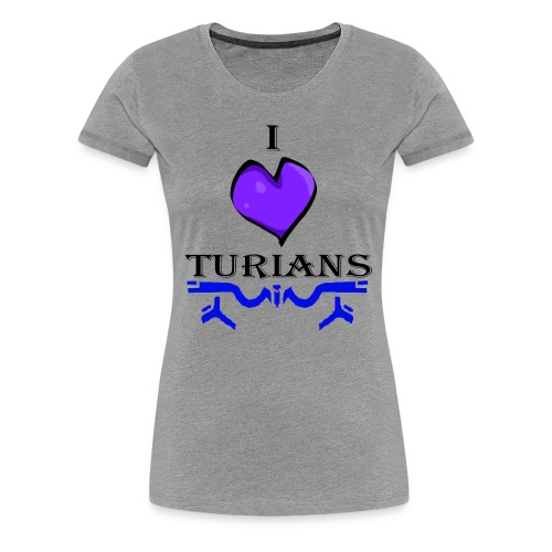 I heart Turians TShirt - Women's Premium T-Shirt