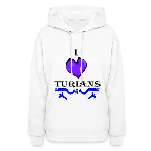 I heart Turians Hoody - Women's Hoodie