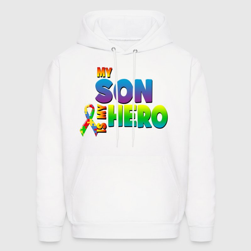 My Son Is My Hero Hoodies - Men's Hoodie