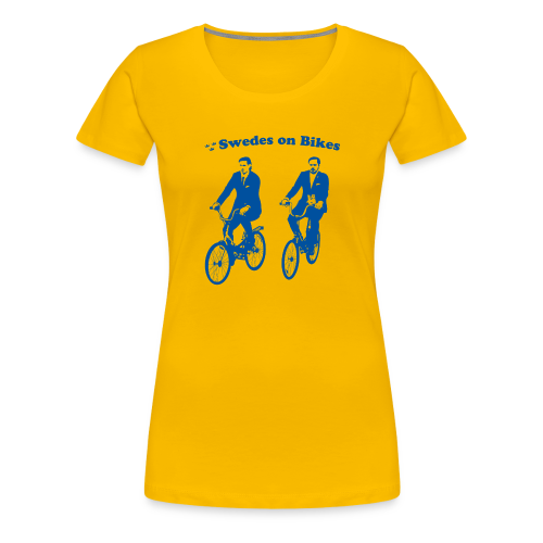 Swedes On Bikes Women's T-Shirt - Women's Premium T-Shirt