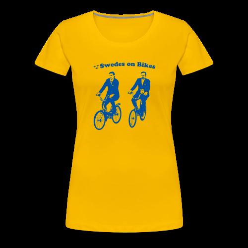 Swedes On Bikes Women's T-Shirt - Women's Premium T-Shirt