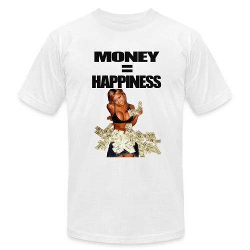 Money = Happiness - Men's Fine Jersey T-Shirt