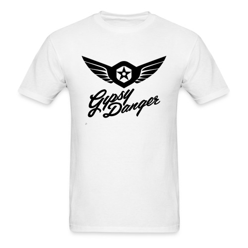 Pacific Rim: Gypsy Danger T-Shirt White - Men's T-Shirt