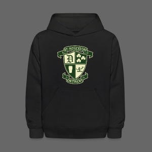 St. Patricks Day Detroit Irish Crest  - Kids' Hoodie