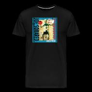 T-Shirts ~ Men's Premium T-Shirt ~ greek pizza men's t-shirt