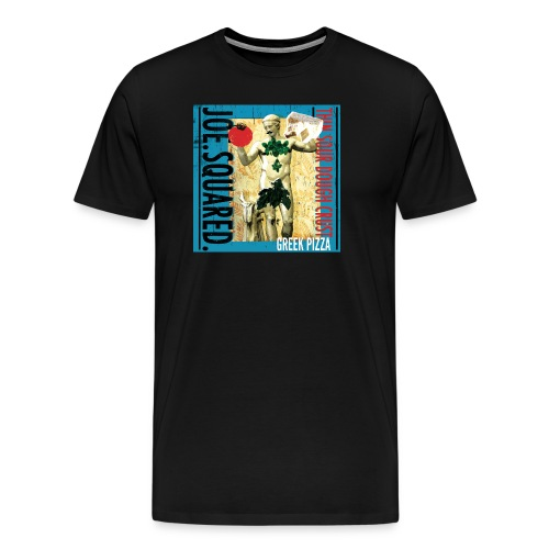 greek pizza men's t-shirt - Men's Premium T-Shirt