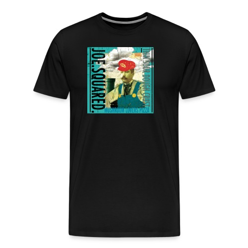 mushroom lovers pizza men's t-shirt - Men's Premium T-Shirt