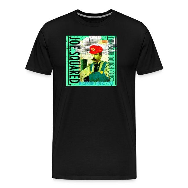 mushroom lovers pizza men's t-shirt