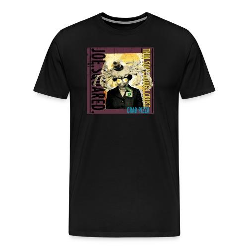 crab pizza men's t-shirt - Men's Premium T-Shirt