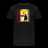 T-Shirts ~ Men's Premium T-Shirt ~ meatball and spaghetti pizza men's t-shirt