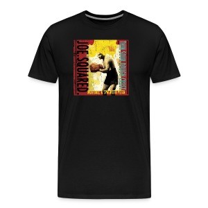 meatball and spaghetti pizza men's t-shirt - Men's Premium T-Shirt
