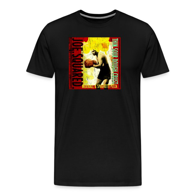meatball and spaghetti pizza men's t-shirt