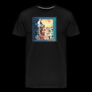 T-Shirts ~ Men's Premium T-Shirt ~ flag pizza men's t-shirt