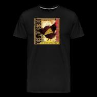 T-Shirts ~ Men's Premium T-Shirt ~ chicken, corn and apple pizza men's t-shirt
