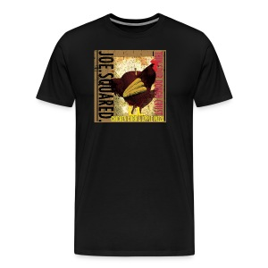 chicken, corn and apple pizza men's t-shirt - Men's Premium T-Shirt