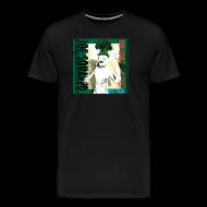T-Shirts ~ Men's Premium T-Shirt ~ white pizza men's t-shirt