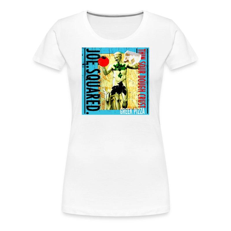 greek pizza women's shirt - Women's Premium T-Shirt