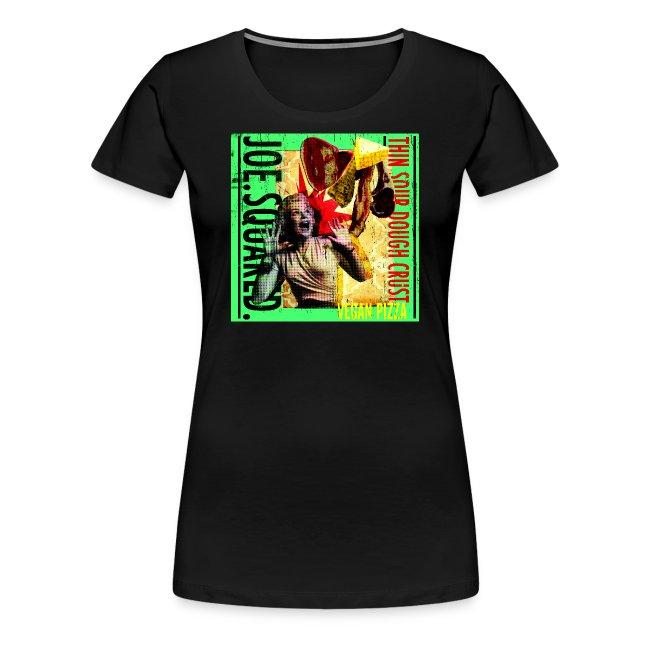 vegan pizza women's shirt