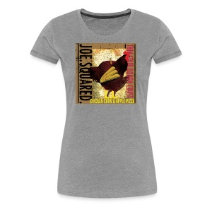 chicken, corn and apple pizza women's shirt - Women's Premium T-Shirt