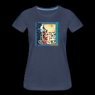 T-Shirts ~ Women's Premium T-Shirt ~ flag pizza women's shirt