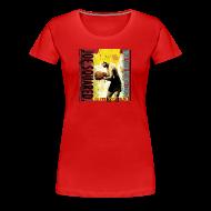 T-Shirts ~ Women's Premium T-Shirt ~ meatball and spaghetti pizza women's shirt