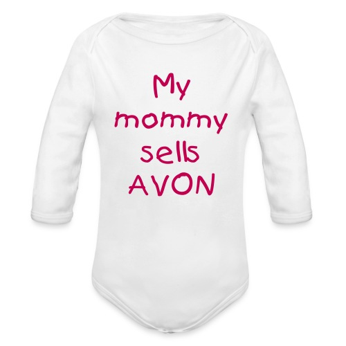 AVON MOMMY BABY - Organic Long Sleeve Baby Bodysuit