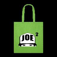 Bags & backpacks ~ Tote Bag ~ Simple Joe Squared Logo Tote Bag
