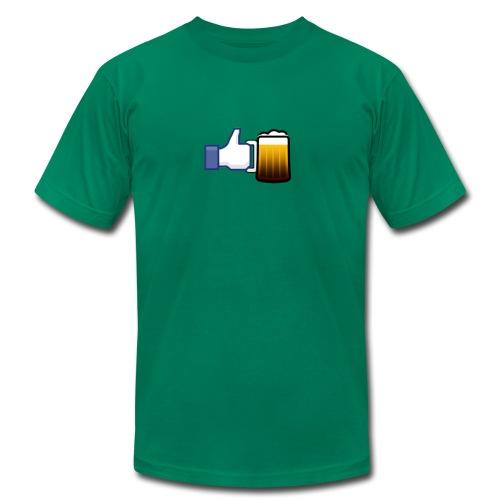 Like Beer - Men's Tee - Men's Fine Jersey T-Shirt