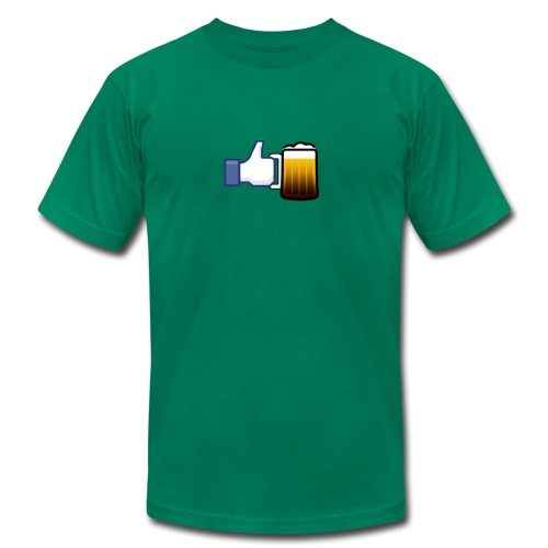 Like Beer - Men's Tee - Men's  Jersey T-Shirt