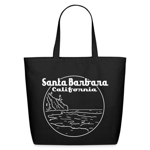 Rebecca Brand's Santa Barbara California Eco-Friendly Cotton Tote - Eco-Friendly Cotton Tote