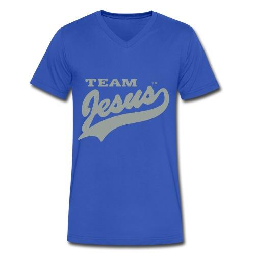 Team Jesus V-Neck - Men's V-Neck T-Shirt by Canvas