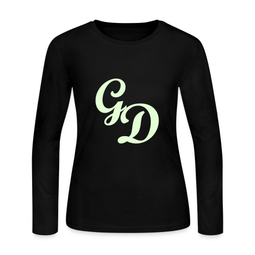 G&D Basic Logo | Long-Sleeve | Female - Women's Long Sleeve Jersey T-Shirt