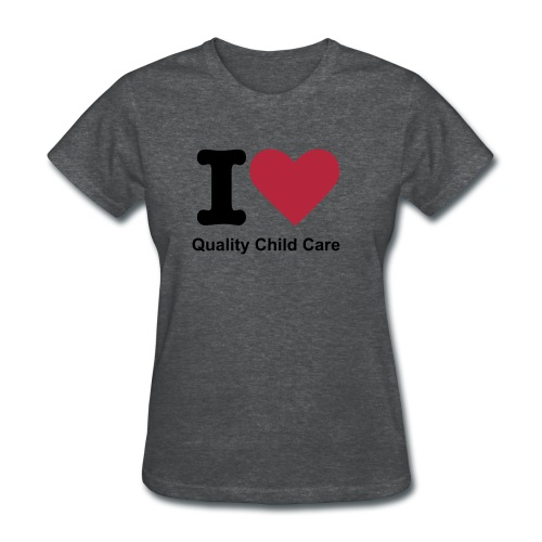 I Love Childcare Women's - Women's T-Shirt